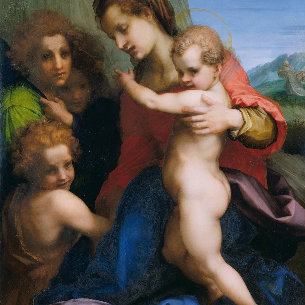 Andrea del Sarto - The Virgin and Child with the Infant Baptist - P9.jpeg