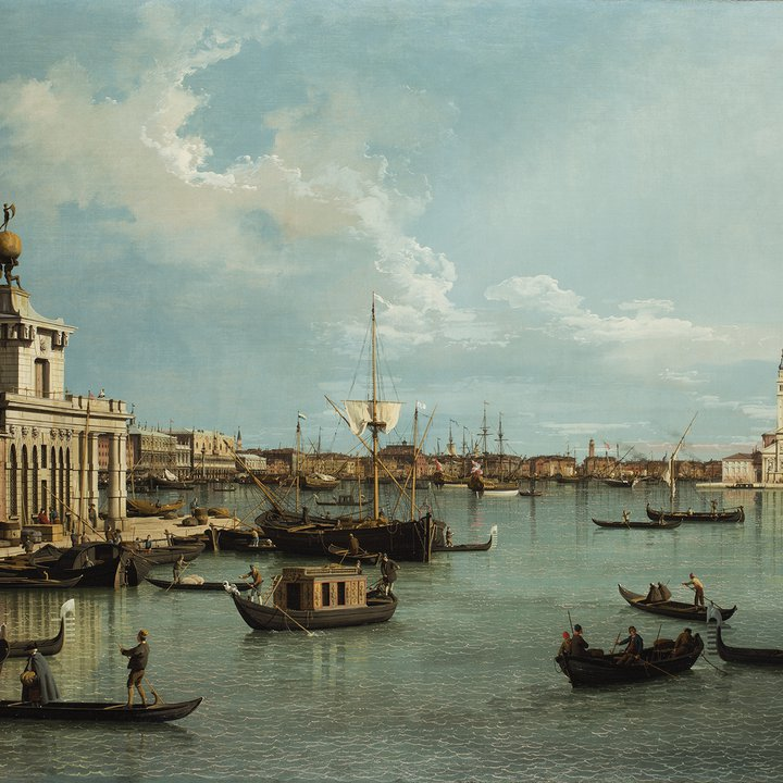 Eighteenth century Seascape of Venice