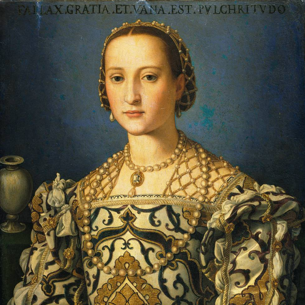 Sixteenth century, three-quarter length portrait of a women